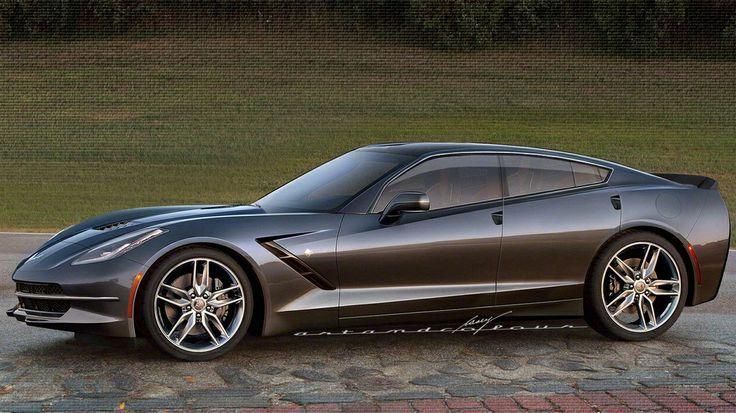 Corvette C7 4 Door Sedan Motion Pinterest
