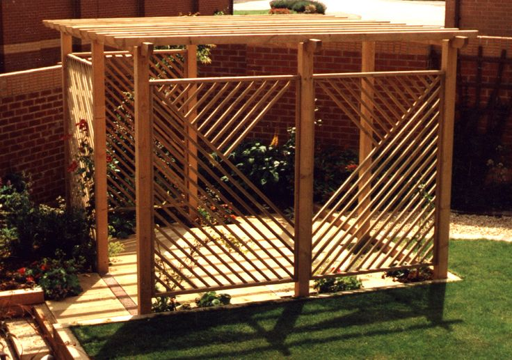 Pergola designs 1000 703 dream home real for Japanese garden trellis designs