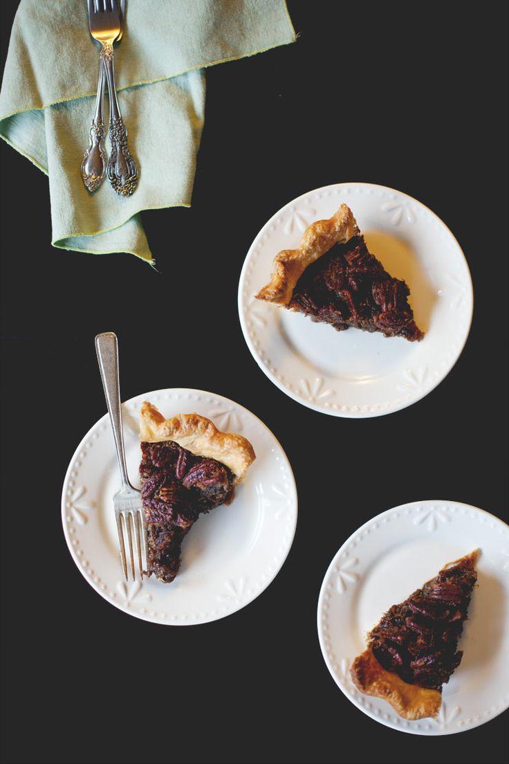 Maple-Bourbon Pecan Pie /// Portion | [ My Work : Little Light Creati ...
