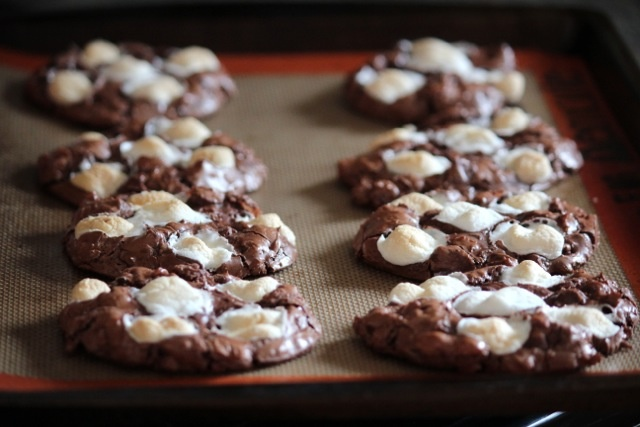 ... road cookies rocky road cookie recipe two peas their mini rocky road