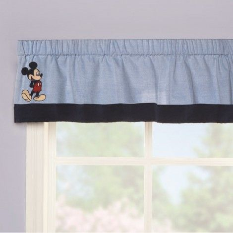 MICKEY MOUSE Classically Cute Valance