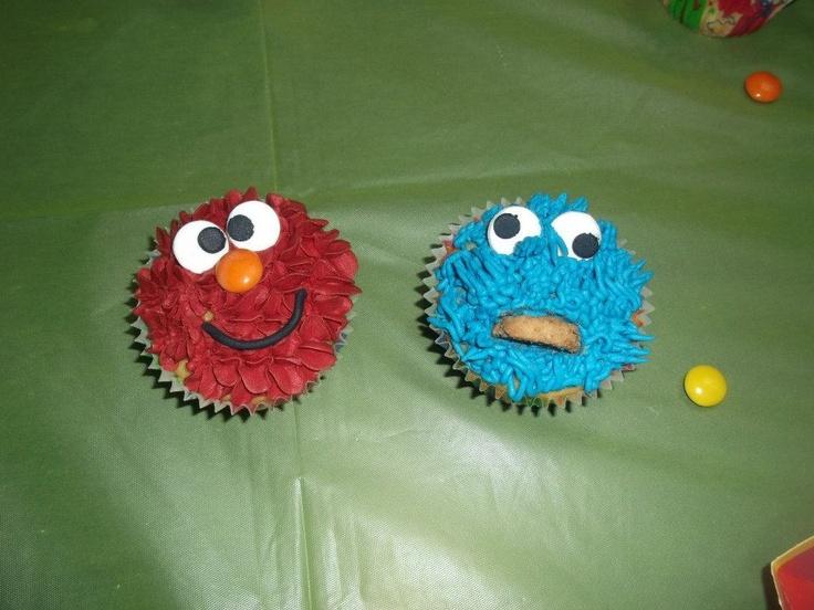 Cupcakes Cookie Monster Elmo | Ursula Pastor Tortas ...