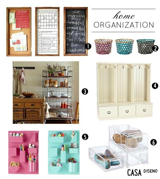 Organized/Home Organization Ideas #organization #storage  Home ...