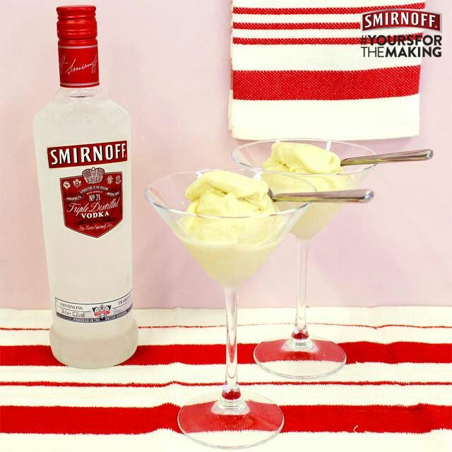Vodka ice cream desserts pinterest for Ice cream with alcohol