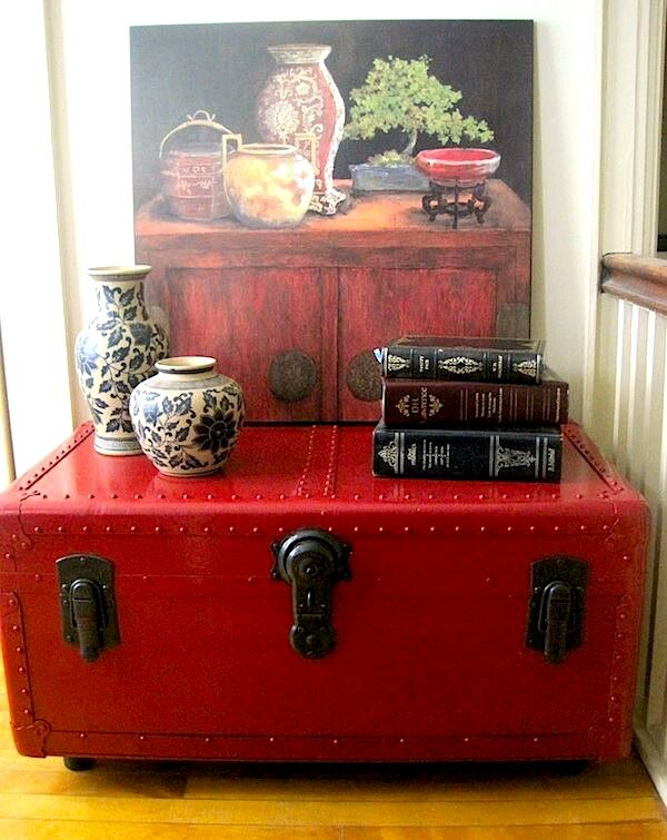 Painted old trunk diy ideas pinterest - How to paint an old trunk ...