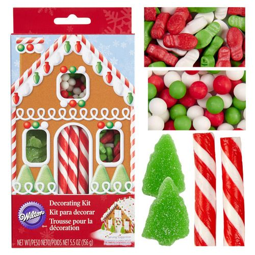 Gingerbread House Decorating Candy Kit 2104 0042