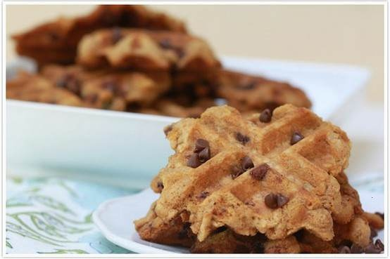 OATMEAL CHOCOLATE CHIP WAFFLE COOKIES. | Sweet treats | Pinterest