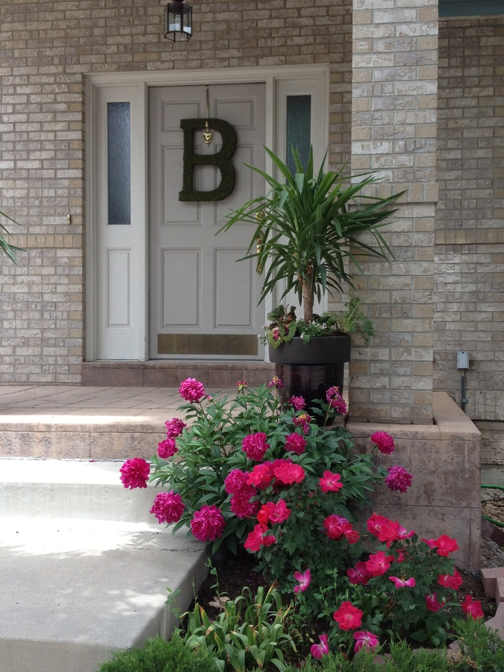 One day curb appeal compliments of linda lee interiors