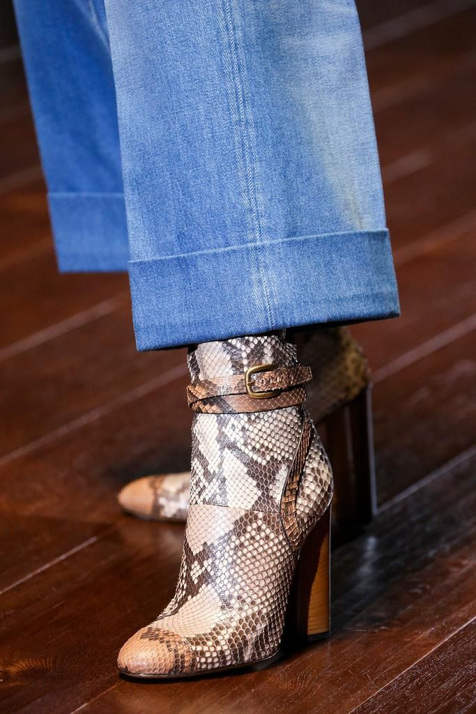 boots @ Gucci Spring 2015