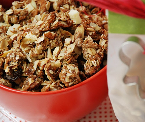 Gingerbread Cookie Granola | Food | Pinterest