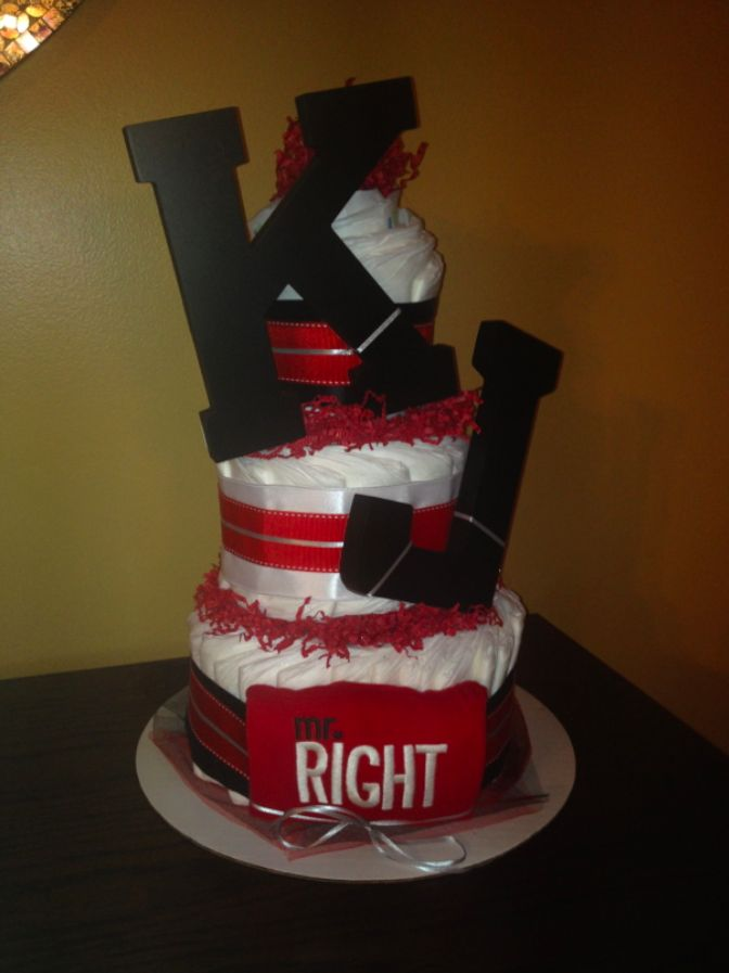 mj jordan themed boy baby shower diaper cake by mz dj tone jordan
