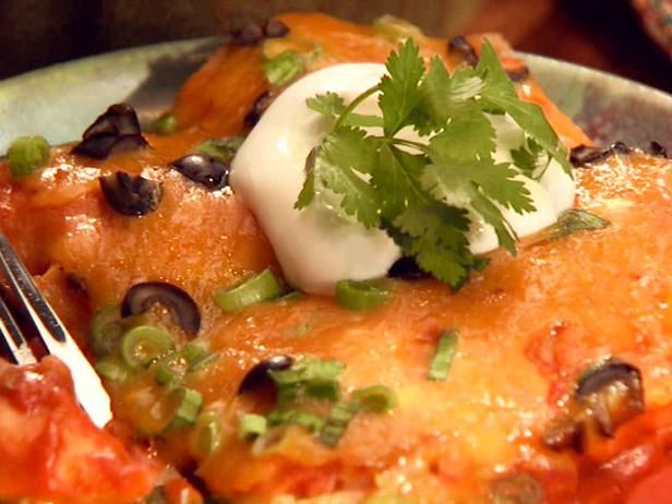 "Simple Perfect Enchiladas by Ree Drummond aka ""The Pioneer Woman"""