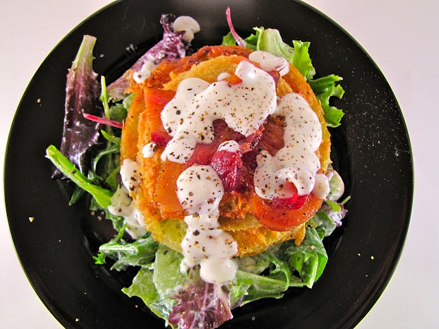 ChowGals: BLT Salad with Buttermilk Dressing