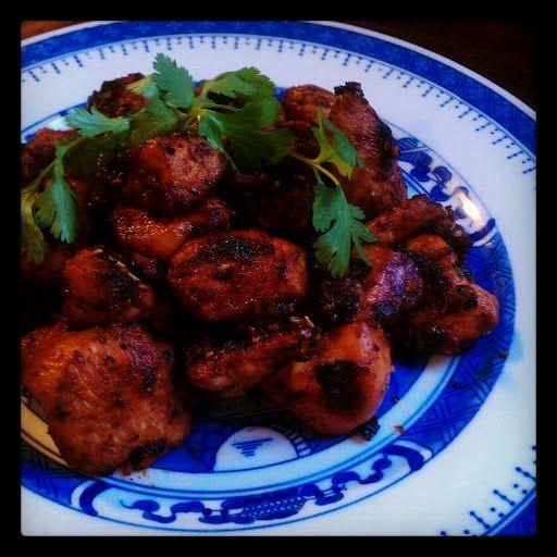 Made Dak Bulgogi (korean bbq chicken) tonight. Great recipe I found ...