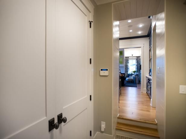 seasonal items, coats and gear. - From HGTV Smart Home 2014 on HGTV