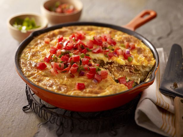 Chorizo, Potato & Green Chile Omelet | Breakfast Items | Pinterest