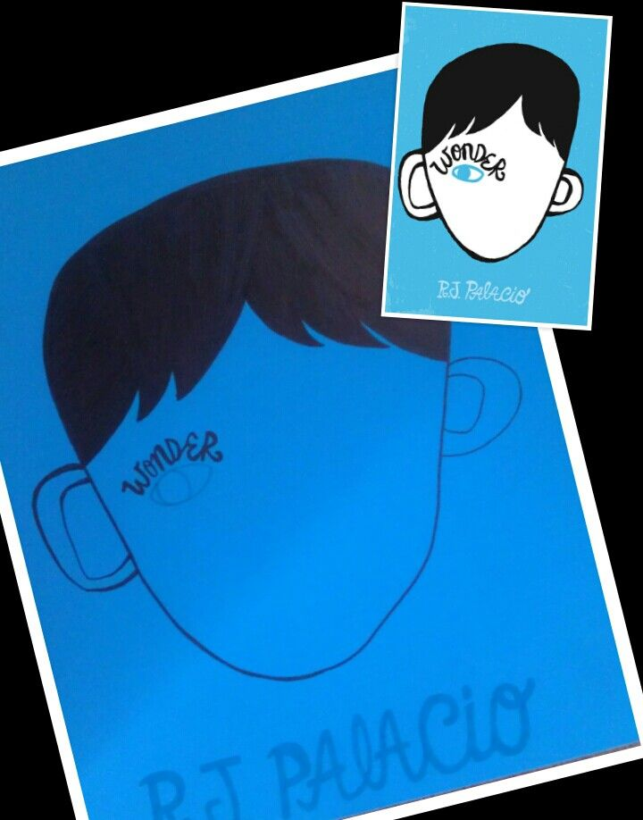 Cool Book Cover Zone : Wonder book cover i made student teaching pinterest