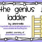 The Genius Ladder is a wonderful Whole Brain Teaching tool used to increase the complexity of the sentences that your students use orally and in th...