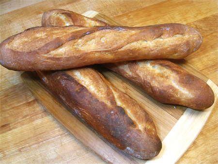Homemade baguettes!