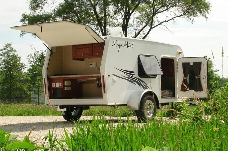 Mega Mini Teardrop Camper Trailer Camper Pinterest