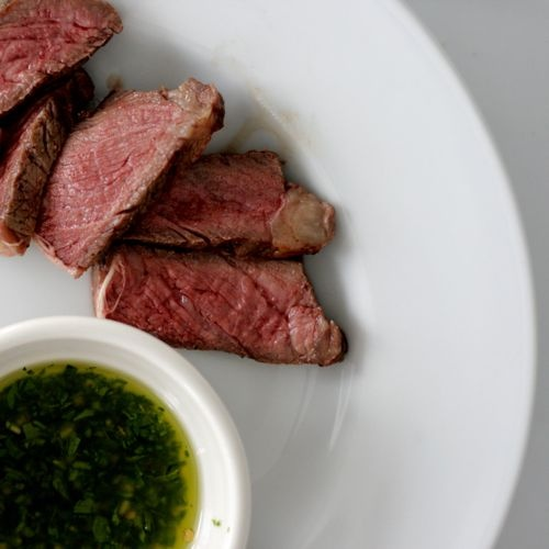 Grilled Steak with Chimichurri Sauce | Tasty Treats | Pinterest