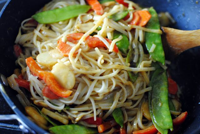 Simply Scratch » Vegetable Pad Thai   Vegitarian Diet   Pinterest