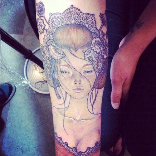 tattoo sol denver tribe seen. tattoo #tattoos at denver I've christel sol portrait tribe in