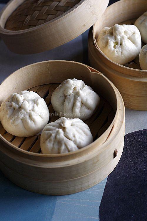 Chicken Buns Recipe (Chinese Steamed Buns/鸡仔包)