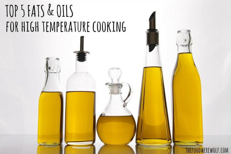 Best oils for high heat