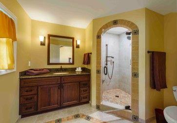 Spanish Style Bathroom Home Pinterest
