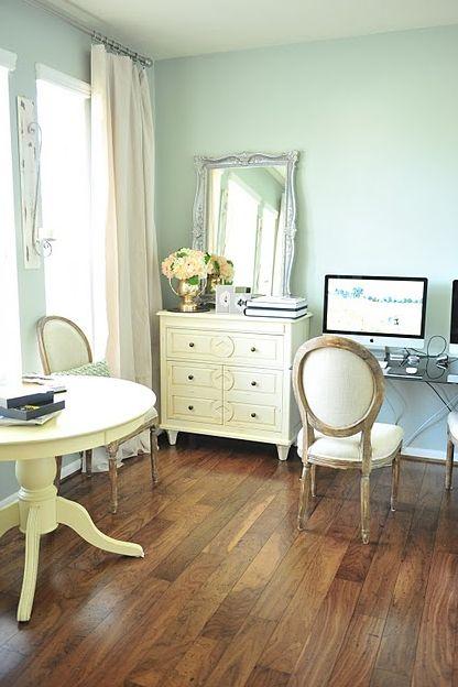 Big Girl Bedroom In Seafoam Home Sweet Home Bedrooms Pinterest