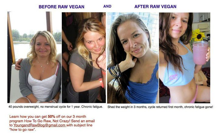 157 raw food weight loss before and after pictures