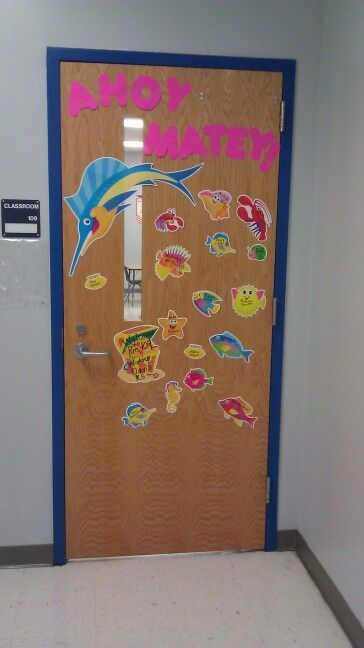 Back to school door decoration kindergarten is fun for Back to school door decoration