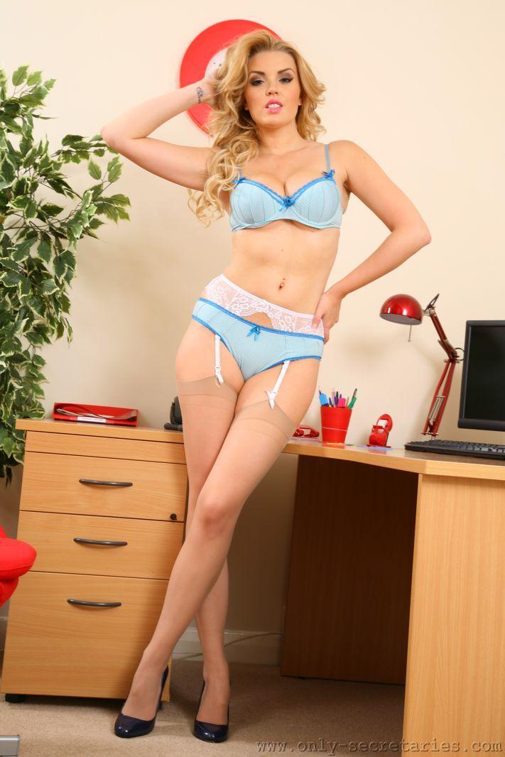 image Office nylon tan pantyhose nylon footjob