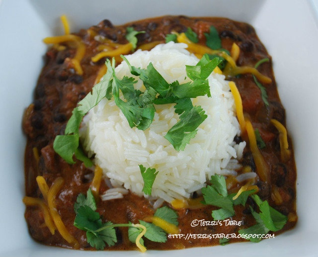 Cuban Chorizo Sweet Potato Stew