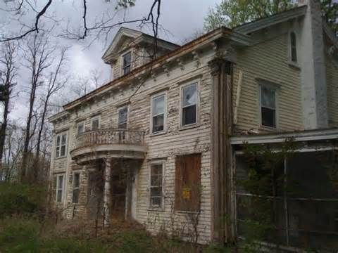 Texas abandoned mansion