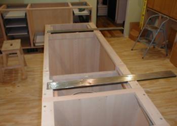 Steel Bars Under Granite Kitchen Ideas Pinterest