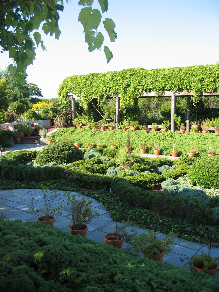Washington Dc Botanical Herb Garden Landscaping Pinterest