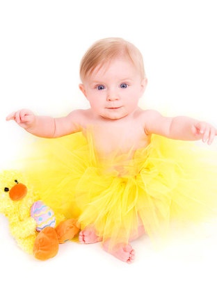 Chickie Easter tutu
