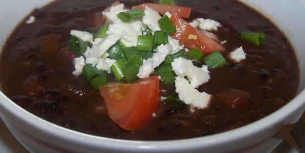 Crock Pot Cuban Black Bean Soup | Soup of the Day | Pinterest