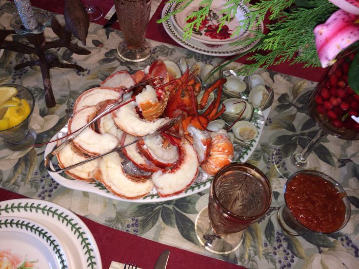 Christmas cold seafood platter | Eat me | Pinterest