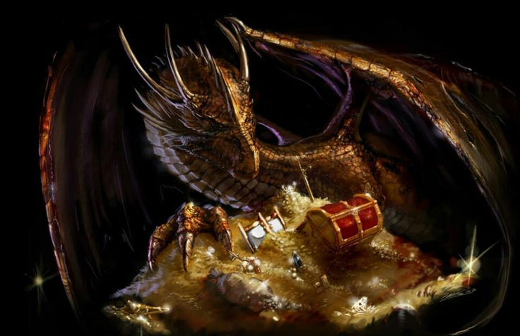 dragons treasure