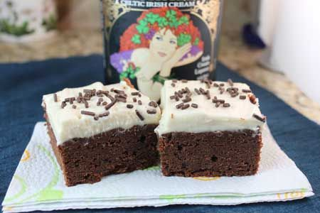 cream whipped cream irish cream cheesecake fudge brownie recipes ...