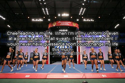 cheerleading is life If you are looking for athletic clothing, choose soffe apparel we have athletic clothes for kids, women and men.
