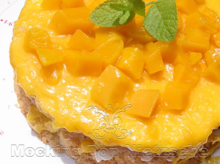 Mango Double Layered Cake | Cakes made in Miyazu harvest | Pinterest