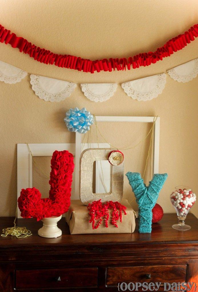 JOY-ful Christmas Display