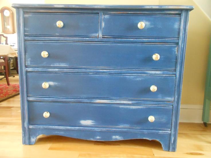 Annie Sloan Chalk Paint Louis Blue And Napoleonic Blue View Image