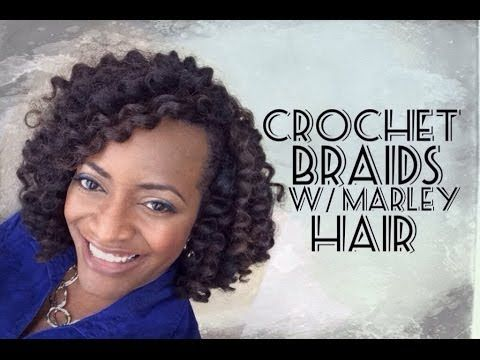 Crochet Braid Using Marley Hair HAIR!!!!! Pinterest