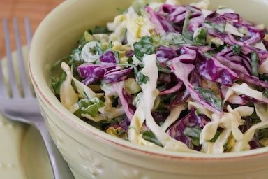 Spicy Mexican Slaw with Lime and Cilantro | Recipe