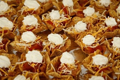 Individual Nachos | deelish foods ! | Pinterest